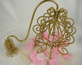 Pink and Gold Party Decoration - Wedding Table Centerpiece -  Fairy-tale Wedding - Princess Carriage