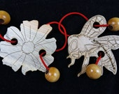 Double Trouble Honey Bee String Puzzle