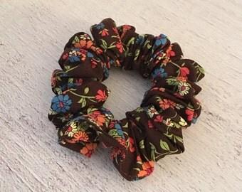 Fall Hair Scrunchie/ Hair scrunchies/ Cotton Hair Scrunchies