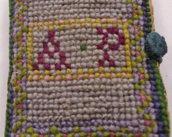 Vintage tapestry needle case - vintage ephemera / sewing notions  (Ref P62)