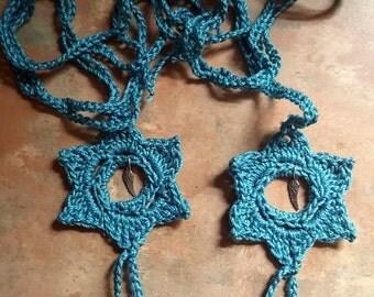 Pretty Crochet Wristlet Bracelets With Charms/Slave Bracelet