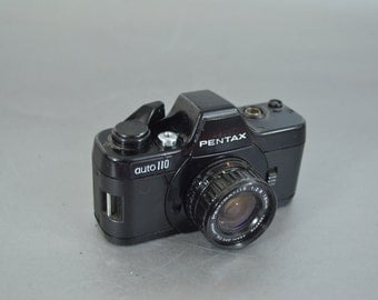 Vintage Mini  Pentax Auto 100 Camera - So Cool