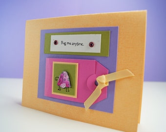 Hope You Get Well Soon - Friendship Cards - Miss You Card - Friendship Greeting Cards - Blank Cards & Envelope - Spring Card - Hello Card