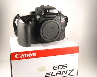 Canon Elan 7 Body 35MM Camera