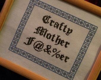 Crafty Mother......Cross Stitch