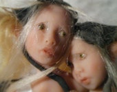 "Moving Sale - 6"" Inch  One of a Kind Prosculpt Fairy Sisters from Sandi McAslan"