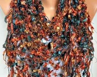 Spring Crochet Shawl Scarf, Bridesmaid Gift,Bridal Accessories, Summer,Handmade Cowl Neckwarmer Gift Idaes For Her Women Fashion Accessories