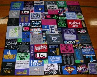 Mosaic Tee Shirt Quilt