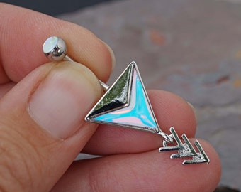 Belly Button Rings Chic Chevron Arrow