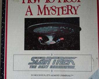 1992 How to Host a Mystery - Star Trek the Next Generation