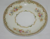 Tuillerie China Saucer Made in Japan Fine China Saucer Elegant Floral Pattern Vintage 40s or 50s Saucer Collectible China Plate Rococo