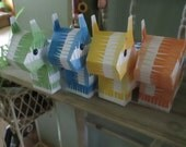 Mini Pinata  Candy Boxes Set of 12
