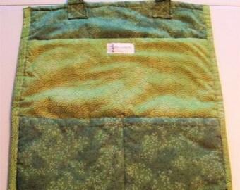 Utility Bag - Green Floral