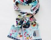 Fantail scarf, Ellen Giggenbach