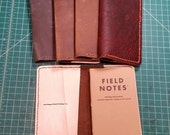 Notebook or Passport Wallet : Made to Order