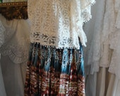 Reserved for KIM    Gypsy hippie bohemian boho skirt