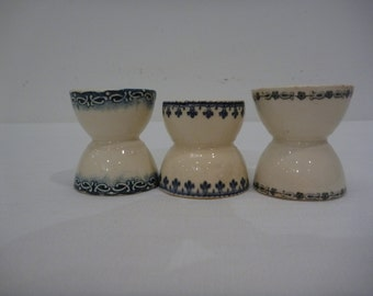 Ironstone Egg Cups