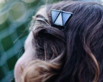 Trapezoid Hair Fork