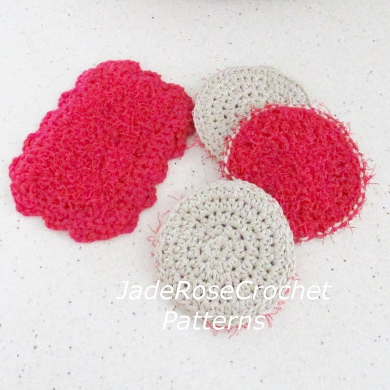 Srubby For Kitchen: Crochet Kitchen Scrubby Pattern Dish Scrubby Cloths Crochet