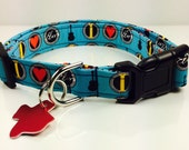 I LOVE ELVIS - Dog Collar - Adjustable