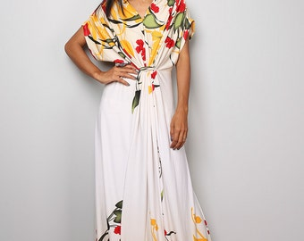 Floral dress - Summer maxi dress : Funky Elegant Collection No.23p
