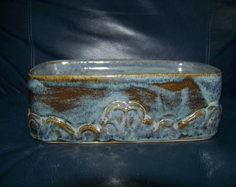 "7"" x 4"" x 2 1/2"" 1/2 a Loaf Pan in Pottery"