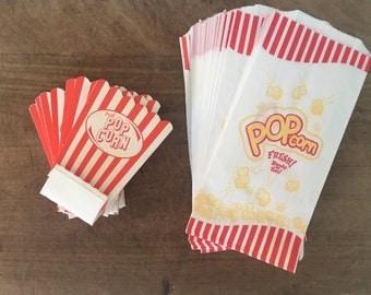 Bundle of Pop Corn box / bags