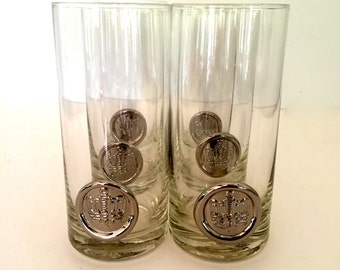 Set of 6 cocktail glass - Mid century modern