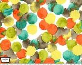 Painterly - Circles Retro Bubbly from Michael Miller