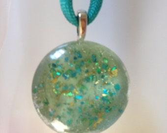 Summerwear Glass Pendant - Casual Fun Jewelry