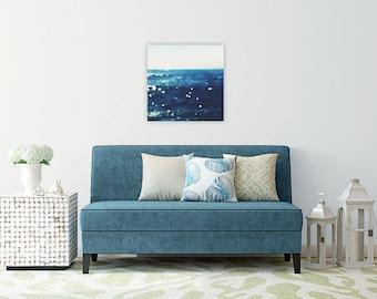 minimalist // large beach photography // beach canvas // minimalist abstract art -  Sea Dream I, photograph on large canvas