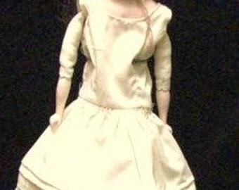 Antique German Bisque Doll , E 15/0 , Kestner