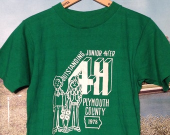 1978 4H t-shirt, small