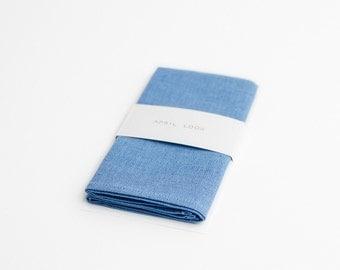 Pocket square, light blue pocket square, men's pocket square