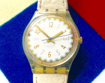 WATCH CLEARANCE EVENT Swatch Watch Eta Early Swatch large watch Swatch watch Swiss watch