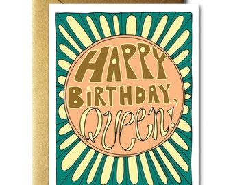 Happy Birthday, Queen Card