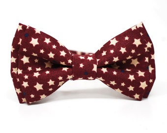 navy dotty bow tie for boys toddlers baby by bowshophandmade