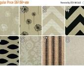 SALE Luxury Curtains- Pair of Drapery Panels- Premier Prints Denton Curtains- 25 or 50W x 63 84 96 108 120 inch Drapes- Burlap Window Treatm