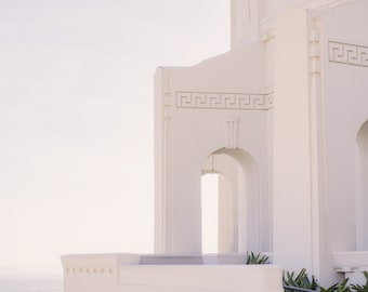 Griffith Observatory Architectural Print - Los Angeles Photography - Fine Art Print & Canvas Wrap