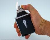 Working 1940s Ronson King Mastercase Lighter (holds standard cigarettes)
