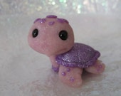 Lilac the tiny sea turtle