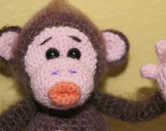 Little monkey,crochet