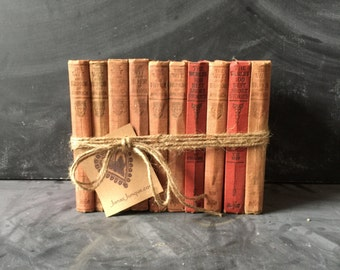 Bundle of books The Wit and Humor of America The Worlds 100 Best Short Stories 10 books in all collectors books shelf display vintage