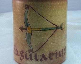 Barbara Ross, Chelsea Pottery Sagittarius Zodiac Mug
