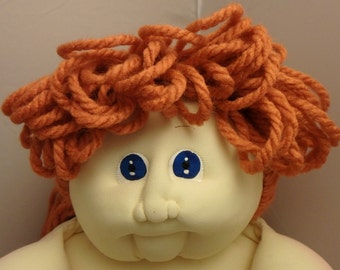 1986 Cabbage Patch Soft-Sculpture - Orange Up-And-Down