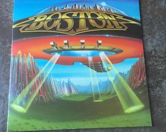 Vintage 1970s Boston Vinyl Record Don't Look Back Album 1978 RARE