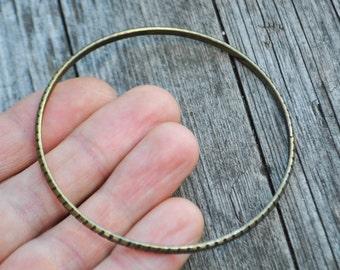 Vintage brass bracelet.