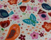 Birds Birdhouses Butterflies Flowers Flannel Pillowcase Standard Handmade Arvilla RubyTM