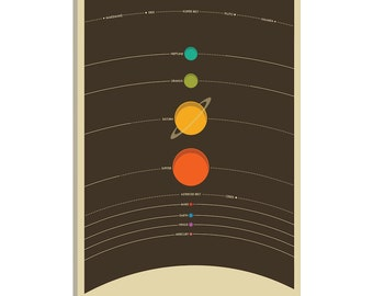 iCanvas Solar System Gallery Wrapped Canvas Art Print by Jazzberry Blue