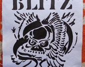 Sew On Blitz Back Patch